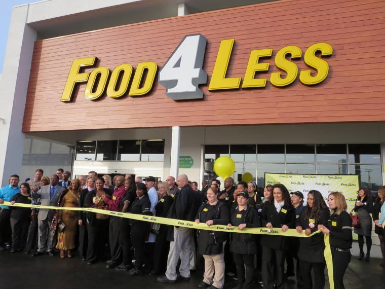 Food 4 Less Grand Opening